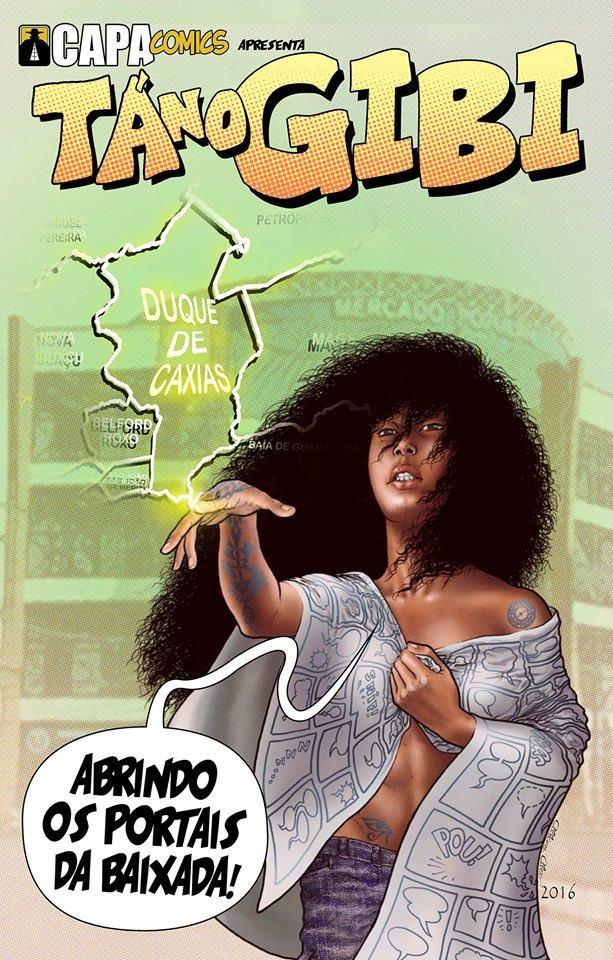 Tá no Gibi hq nacional capa comics
