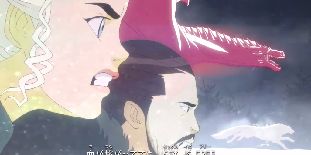 Game of thrones anime version
