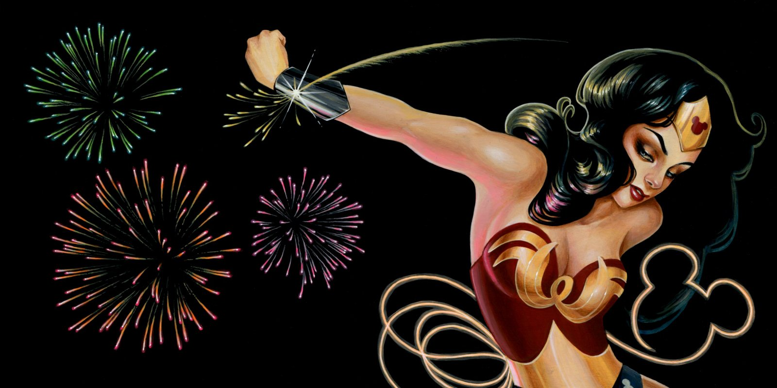 Mulher Maravilha por Glenn Arthur