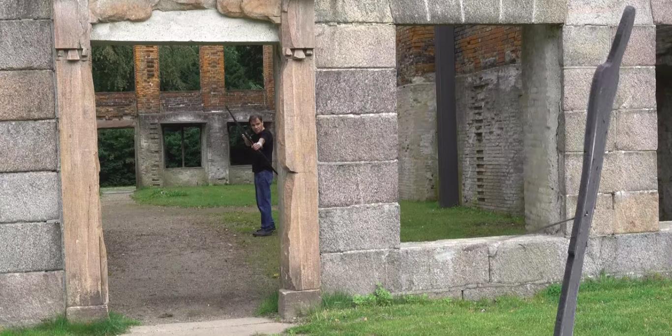 atirando flechas curvas