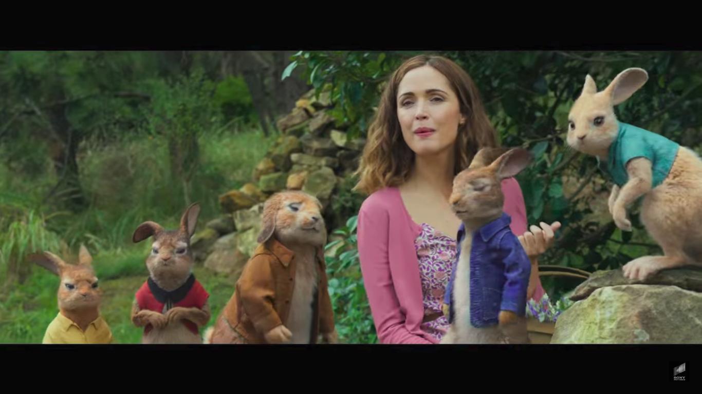 Peter Rabbit filme Beatrix Potter