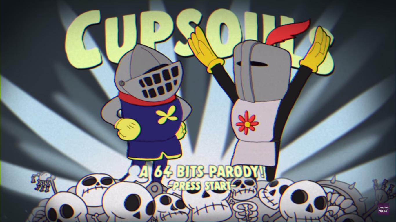 Cupsouls - Cuphead + Dark Souls