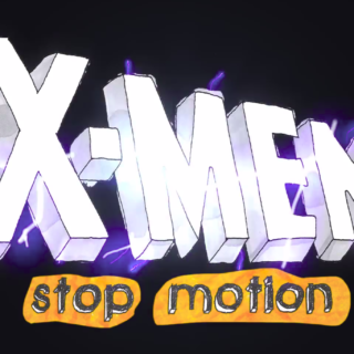 X-Men anos 90 stop motion