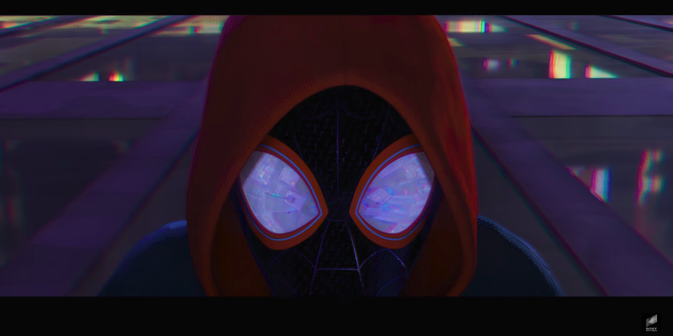 Spider-man: into the Spider-verse miles morales