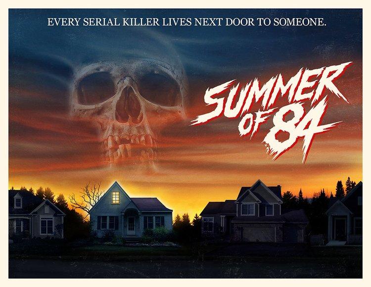 Summer Movies 2018 Posters: Summer Of 84, Suspense Retrô