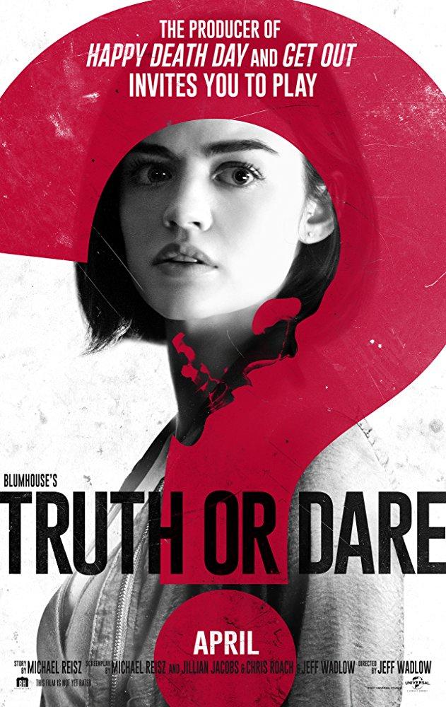 truth or dare verdade ou desafio terror filme poster