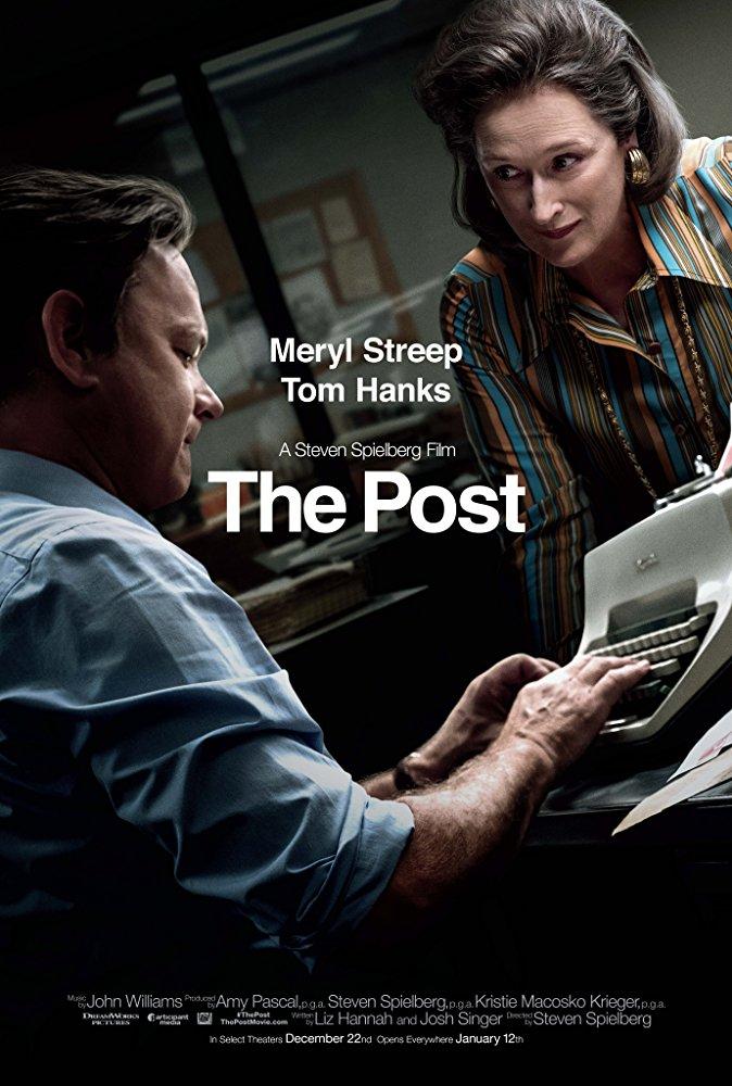 The Post A Guerra Secreta Meryl Streep Tom Hanks poster